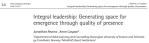 Leadership article Caspari
