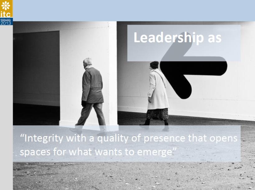 integral leadership caspari